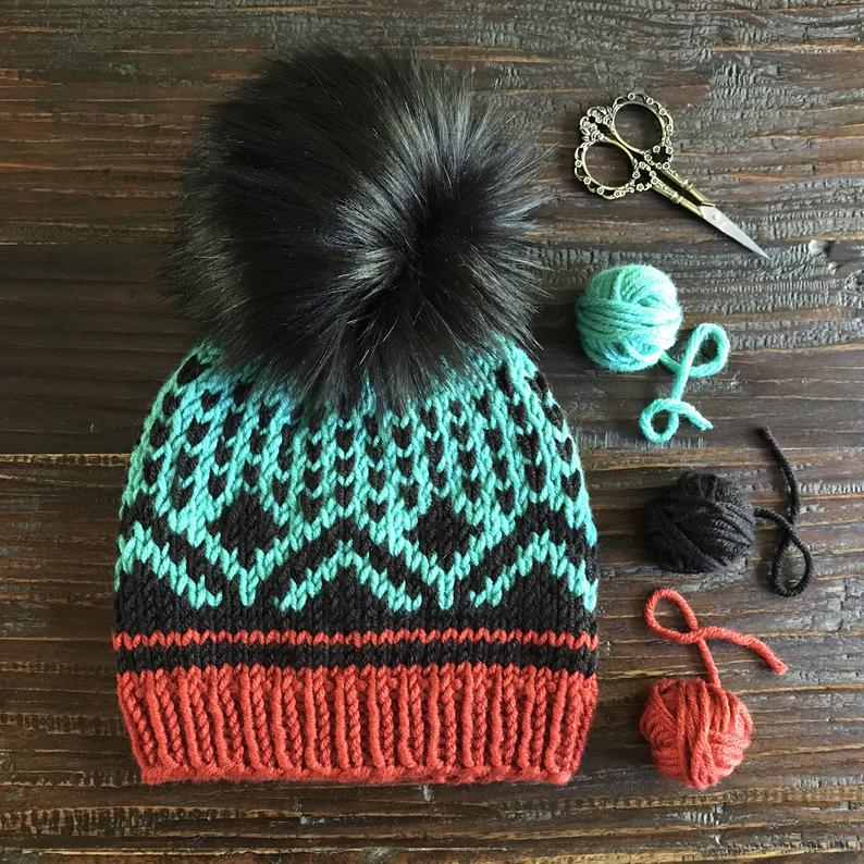 Get the pattern designed by Courtney Flynn