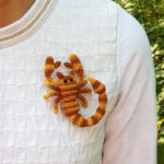 Crochet It! This Scorpion Brooch May Be The Unique Handmade Gift You're Looking For …