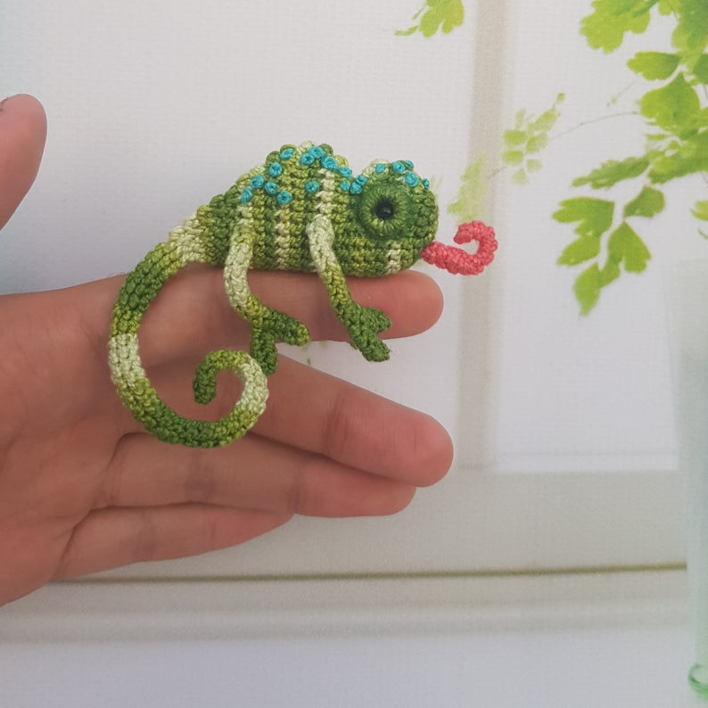 Crochet It! This Scorpion Brooch May Be The Unique Handmade Gift You're Looking For