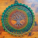 Crochet a Tree of Life Mandala Wall Hanging … Great Gift Idea!