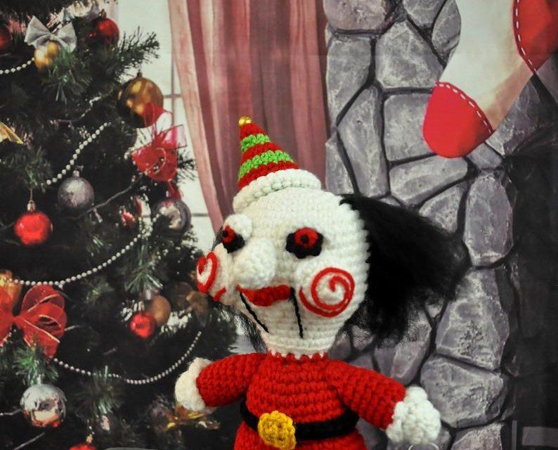 Crochet a Jigsaw-Inspired Elf on the Shelf, Billy the Elf, For Christmas!