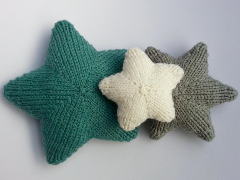 Get the star pattern #knitting