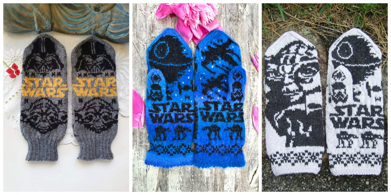 Knit a Pair of Star Wars-Inspired Mittens, Designed By Lotta Lundin – Two Designs To Choose From!