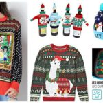 The Best Pre-Made 'Ugly Christmas Sweaters' For Crafty Knitters & Crocheters Like Us …