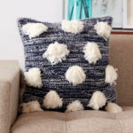 Fun, Furry & FREE! Knit a Marl & Fur Pillow, Makes a Great Gift!