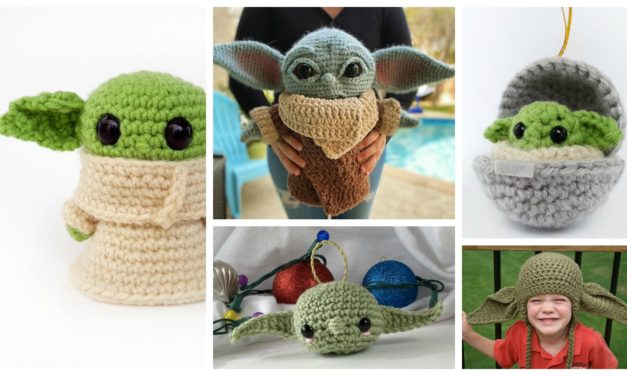 The Best Baby Yoda Patterns For Makers Who Crochet! Dolls, Booties, Hats, Ornaments, Amigurumi and More …
