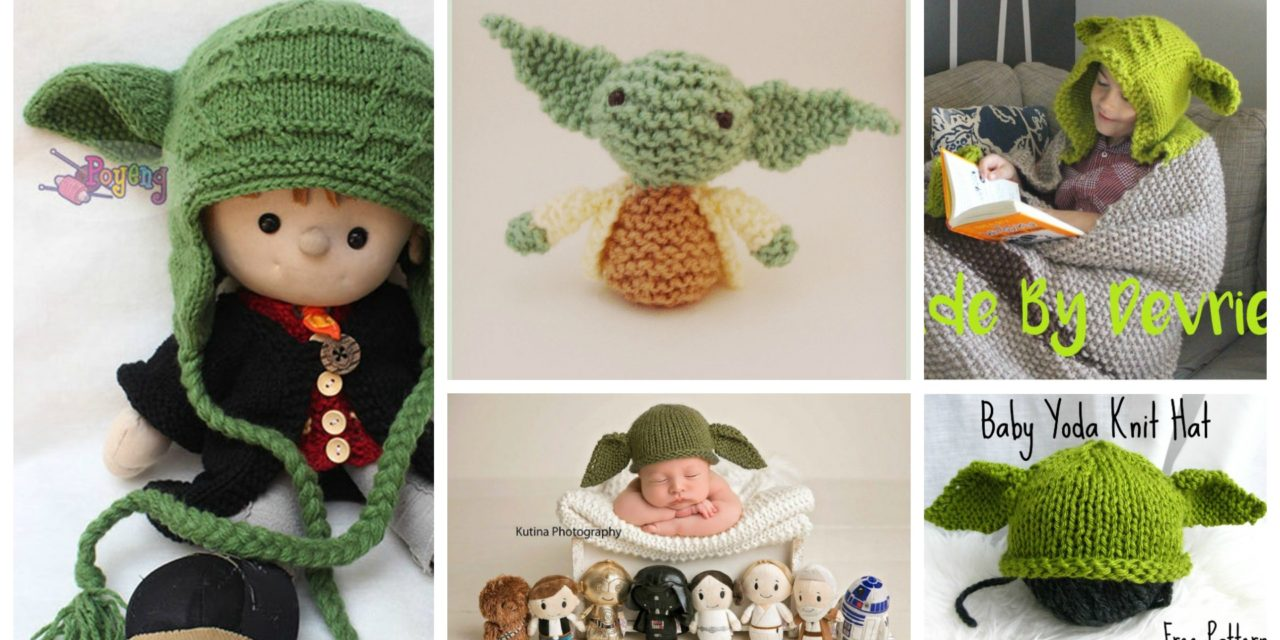 The Best Yoda & Baby Yoda Patterns For Makers Who Knit! Hats, Stockings, Amigurumi and More …