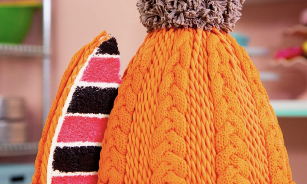 Bake a Cake That Looks Like Exactly Like A Cable-Knit Beanie … Must Be Seen To Be Believed!