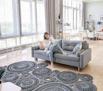 These 'Lace Coin' Mats Designed By Tatiana Ryazanova Take Crochet Rugs To The Next Level