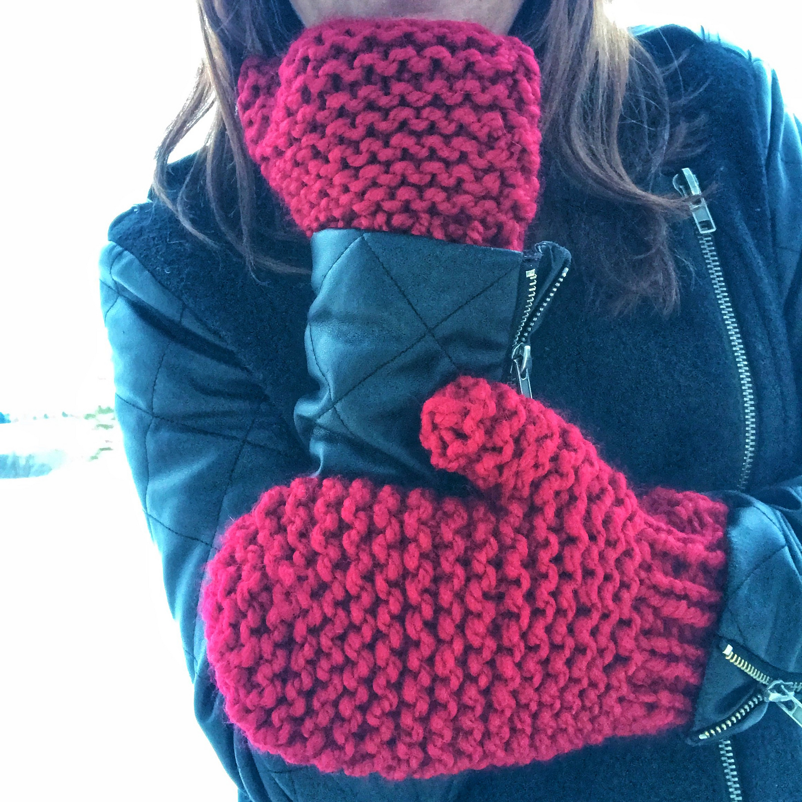 Knit Up 'The Quickest Mittens' With This Pattern Designed By Gina Jenkins