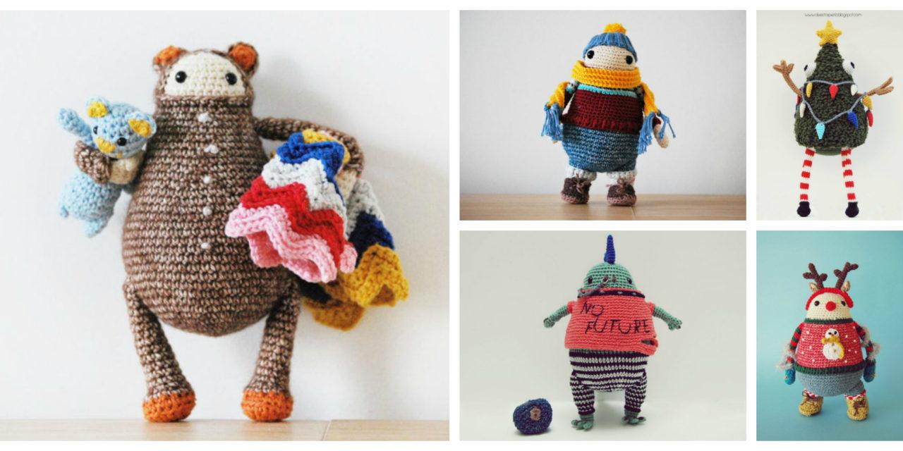 Designer Spotlight: De Estraperlo's Crochet Toys For Childish Grown-Ups, They're Great Amigurumi Fun!