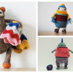 Designer Spotlight: De Estraperlo's Crochet Toys For Childish Grown-Ups, They're Great Amigurumi Fun!
