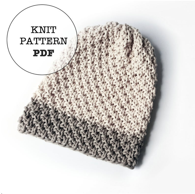 Get the knit pattern from White Owl Crochet #knitting