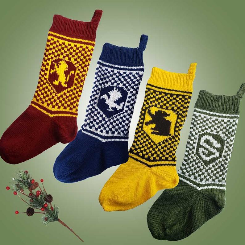 Harry Potter Inspired Patterns #knitting #handmade #HarryPotter