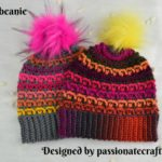 Crochet a Colorful and Truly Unique 'Ash' Beanie
