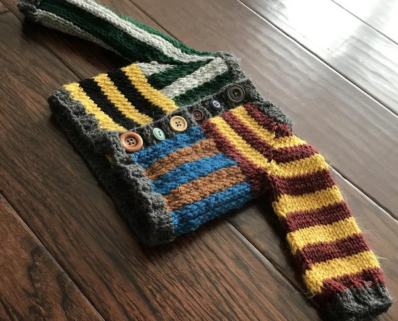 Knit a Colorful Harry Potter-Inspired 'House Spirit Cardigan'