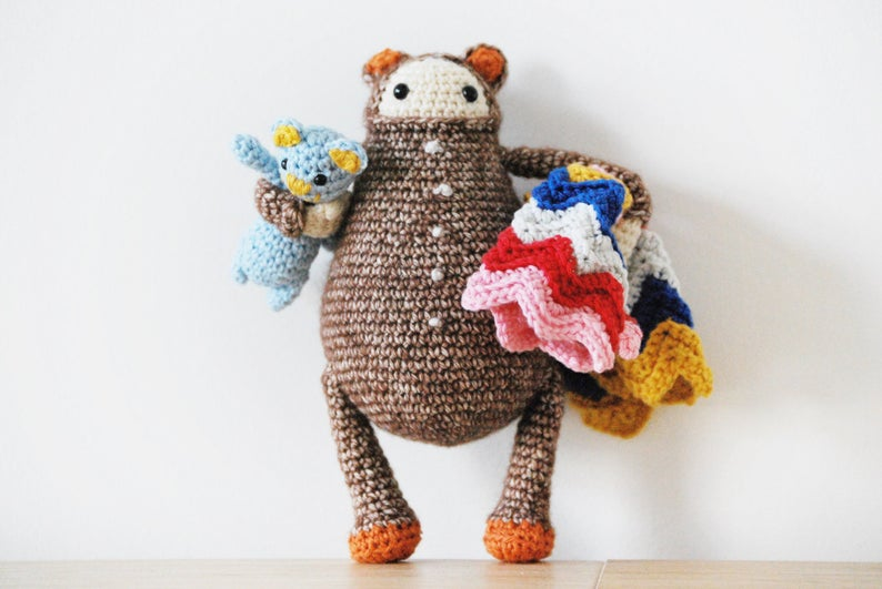 Designer Spotlight: De Estraperlo's Crochet Toys For Childish Grown-Ups