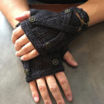 Knit a Pair of His Lordship's Steampunk Mitts Designed By Gabriella Henry