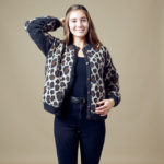 This Pattern Is Free? Wow, Knit a Leopard Print Cardigan That Rocks!