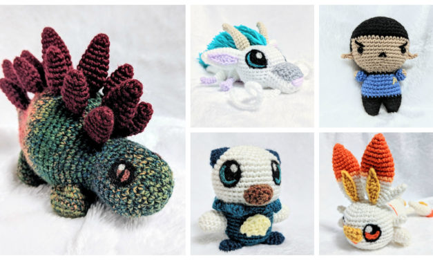 Designer Spotlight: More Free Amigurumi Patterns Than You Can Shake a Hook At … Designed By PikachuHat!