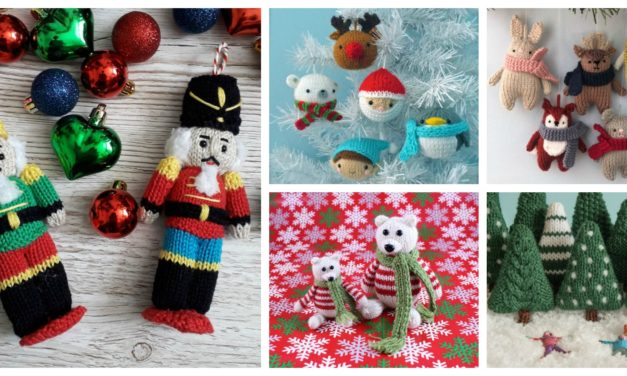 Designer Spotlight: 16 Quick-Knit Christmas Ornaments, Great Gifts, Super Stashbusters!