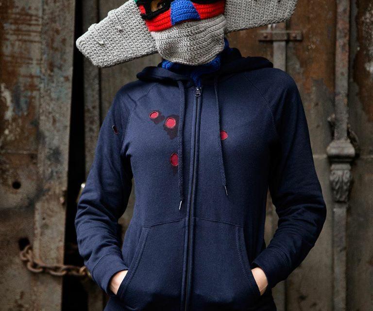 Incredible Steel Jeeg Mask Cosplay Crocheted By Momou Crochet … Wow!