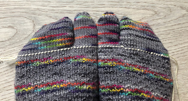 'A Recipe for Split Toes on Socks' … Knit a Pair With This FREE Modification!