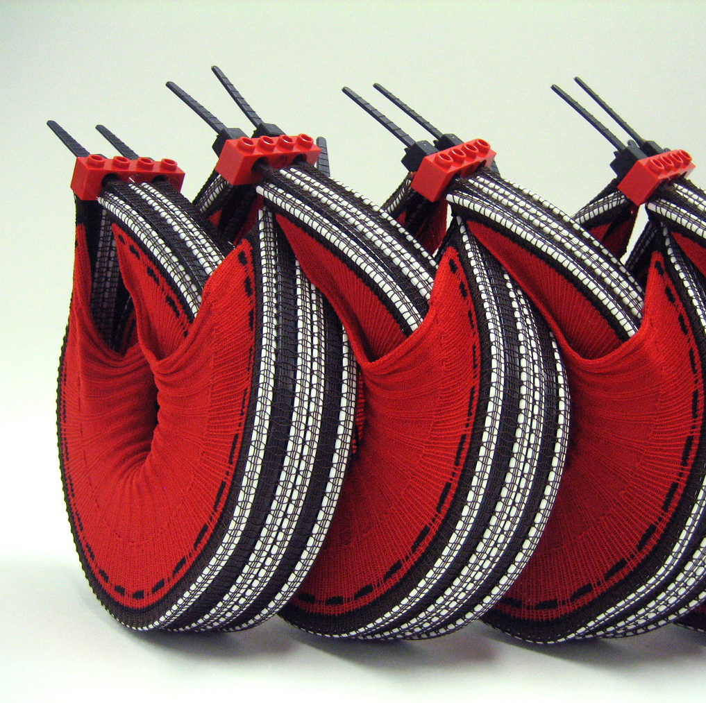 'The Fourth-Dimension' ... 3D Knitted Sculptures By Orawee Choedamphai