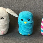 Crochet a Set of Easter Bunny Nesting Dolls