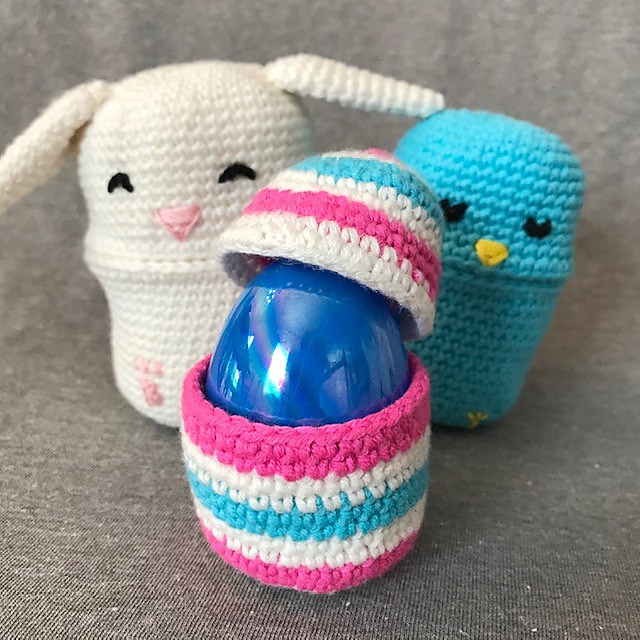 Crochet a Set of Easter Bunny Nesting Dolls