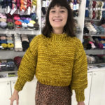 Knit a Cydney Sweater … Great First-Time For Beginner Knitters