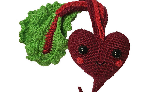This Heart 'BEET' Amigurumi Is A No-Brainer For Galentine's Day Gifting!