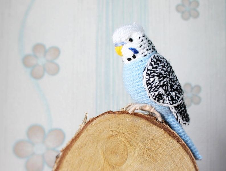 Amigurumi bird rattle for babies | crochet pattern | lilleliis | 601x794