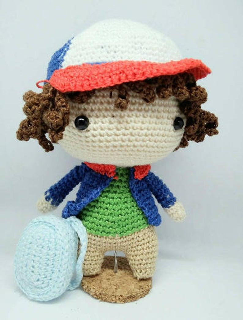 Get the crochet pattern #crochet #amigurumi #StrangerThings