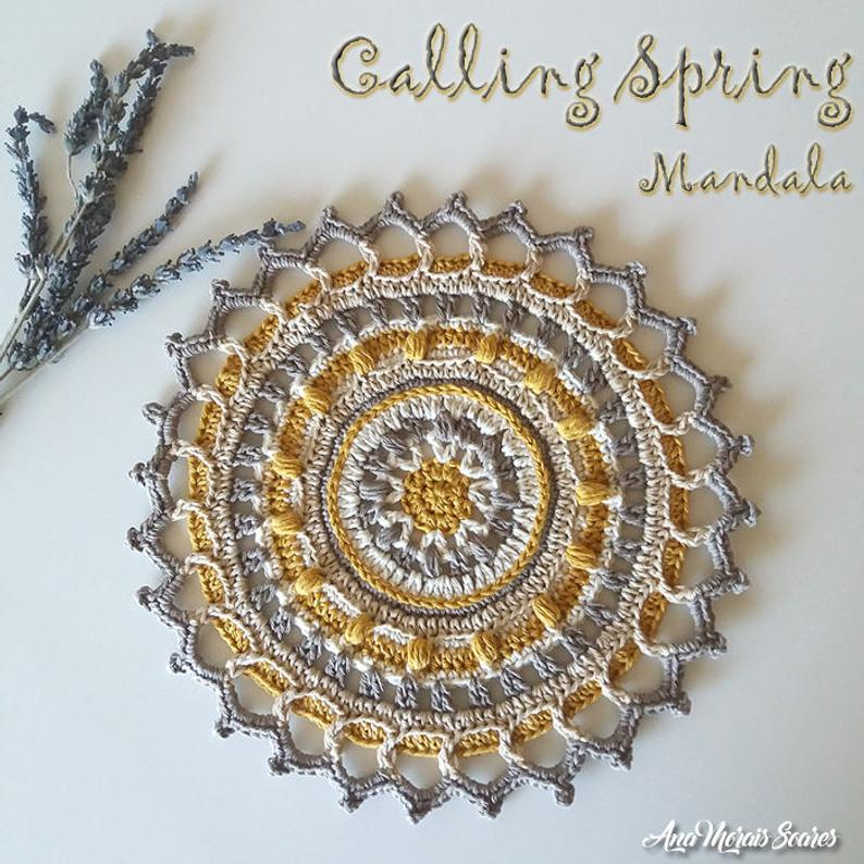 More Than 20 Magical Mandela Patterns For Crocheters To Choose From!