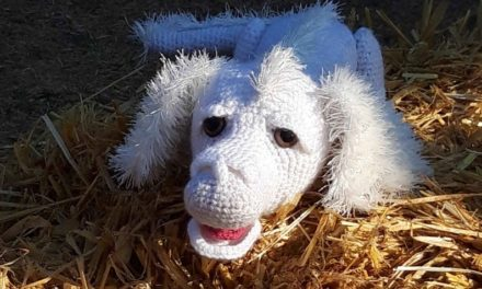 Crochet Falkor The Luckdragon From The Neverending Story, Beloved Classic From The 80s