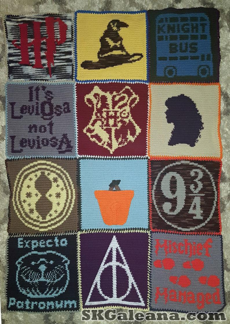 Get the crochet pattern #crochet #harrypotter