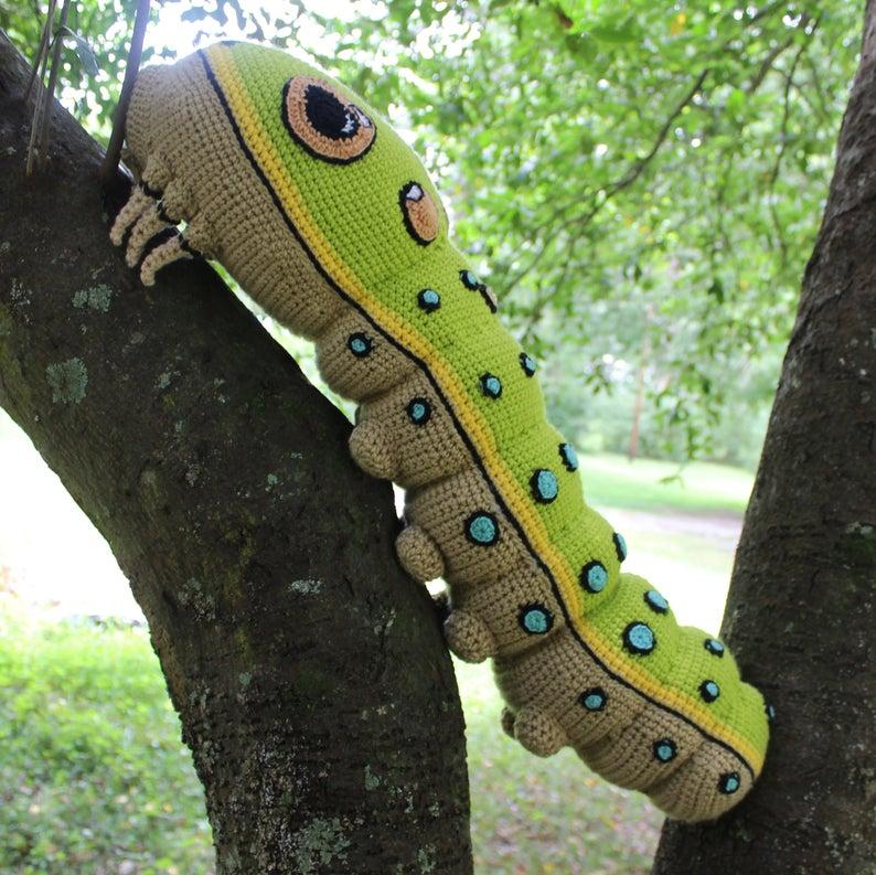 Get the crochet pattern designed by Jenna Wingate #crochet #bug #handmade