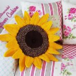 Crochet a Cute Sunflower Cushion … Super Popular AND It's Cute Too!