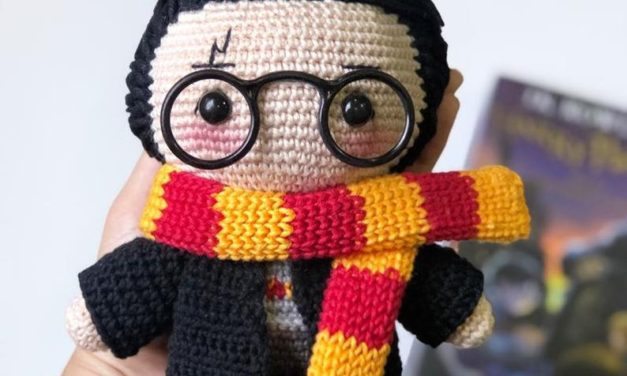 Crochet a Harry Potter Amigurumi Designed By Mariana Chaves … Hedwig Too!