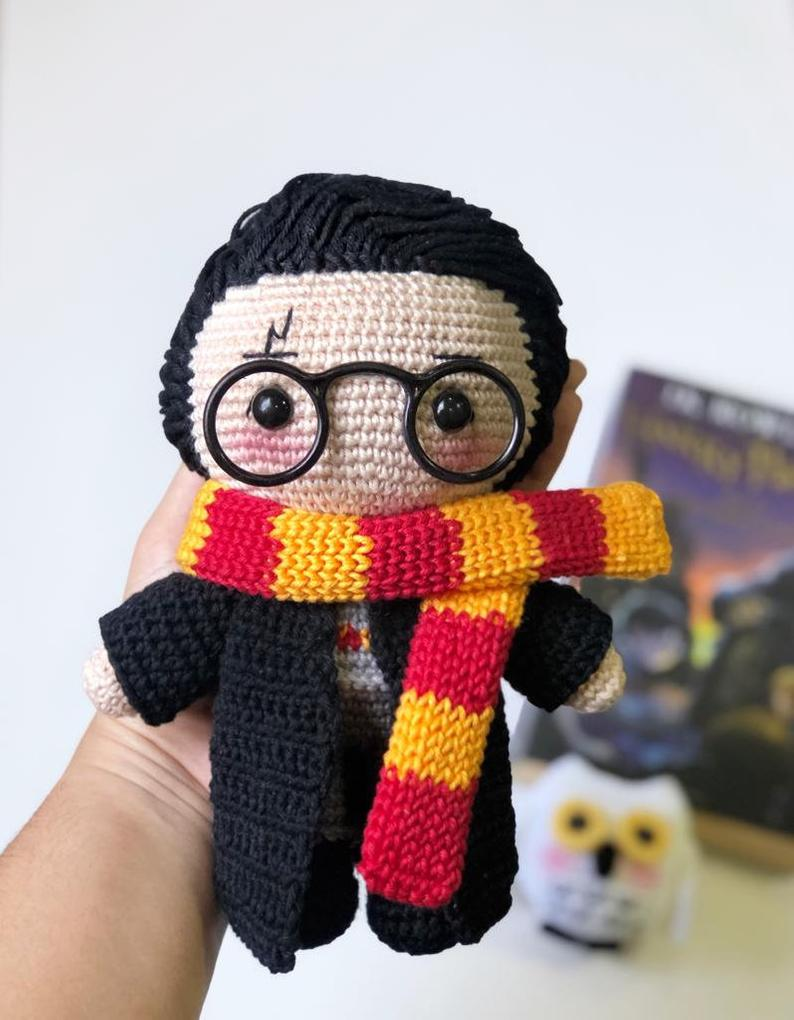 Crochet a Harry Potter Amigurumi Designed By Mariana Chaves ... Hedwig Too!