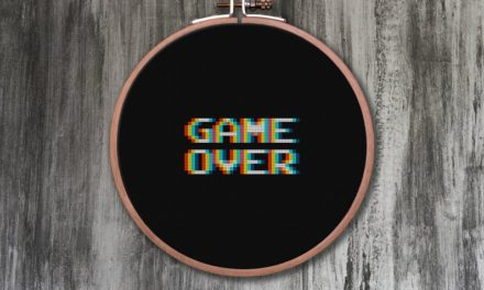 Game Over 4-in-1 Cross Stitch Pattern … This Visual Effect Is Easier Than You Think!