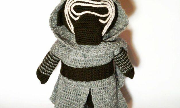 Star Wars Fans … You Can Crochet a 20-Inch Kylo Ren Amigurumi!