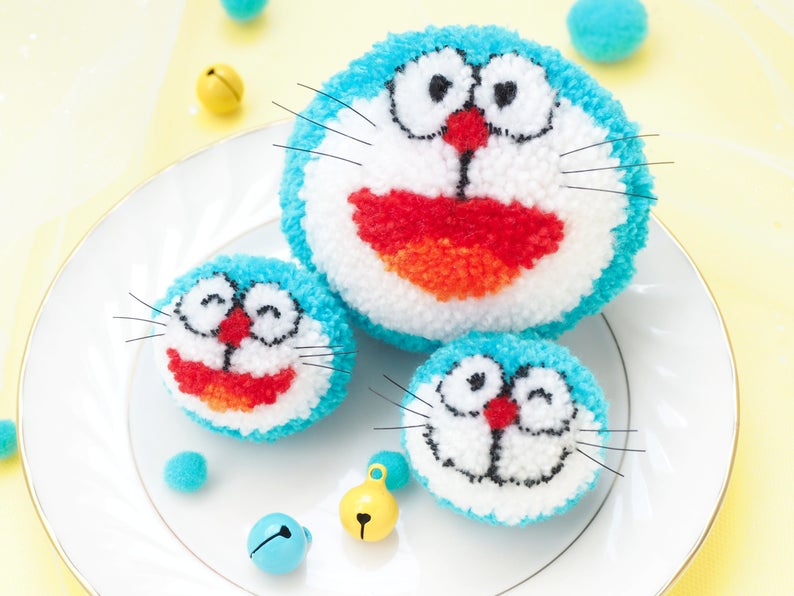 Designer Spotlight: Fun & Slightly Inappropirate, These Cheeky PomPom Patterns From PomPom Wonderland Will Make You Giggle!