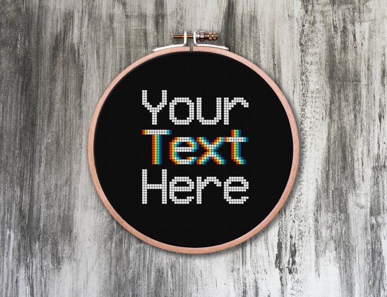 Get the pattern from Asleep At The Stitch #crossstitch #xstitch #retro #vintage