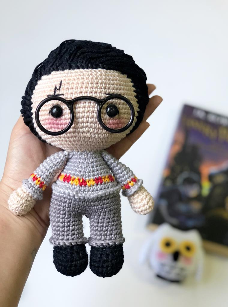 Free Harry Potter Amigurumi Pattern (Crochet) | Harry potter ... | 1024x760