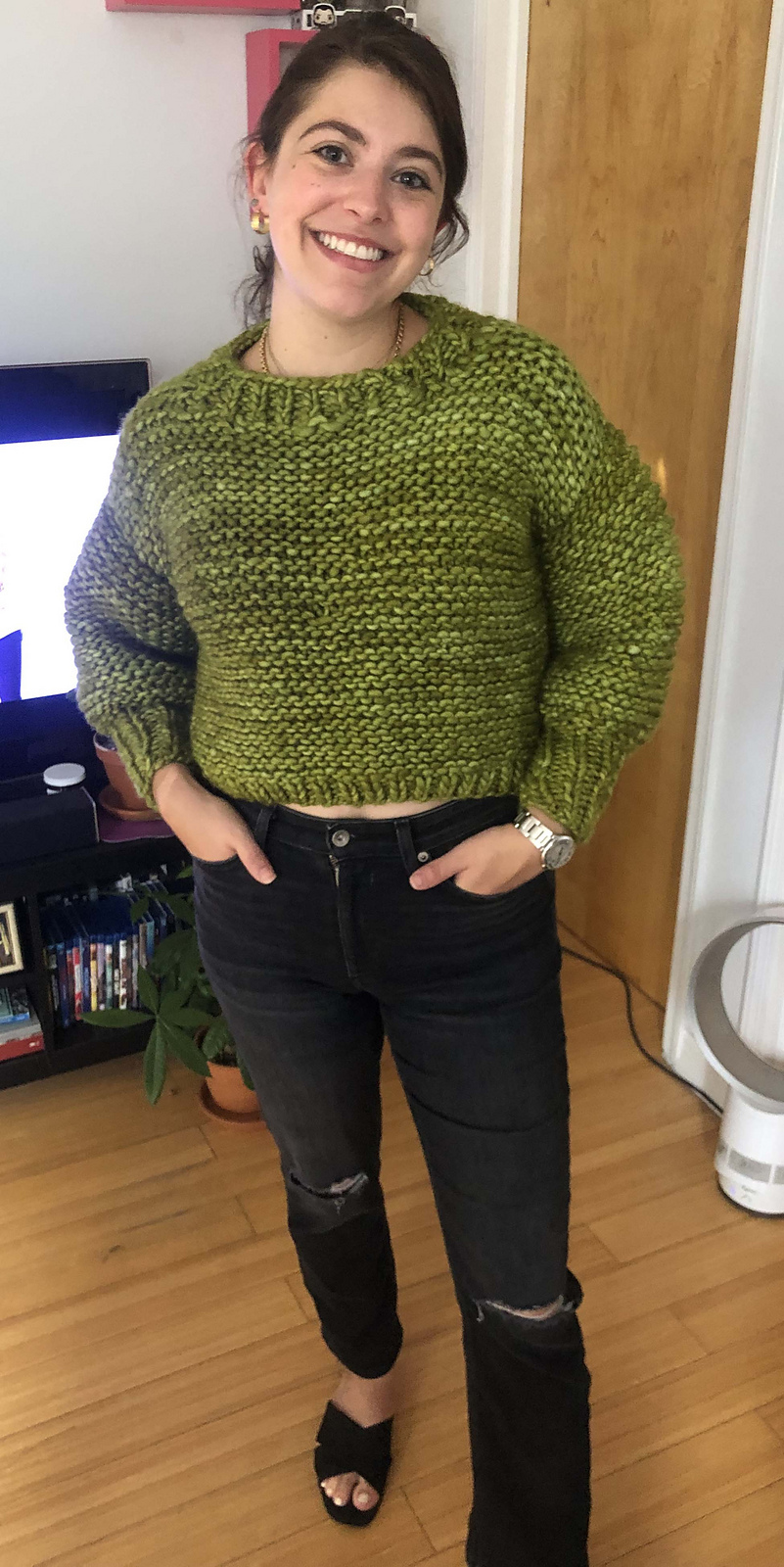 Knit a Cydney Sweater ... Great First-Time For Beginner Knitters