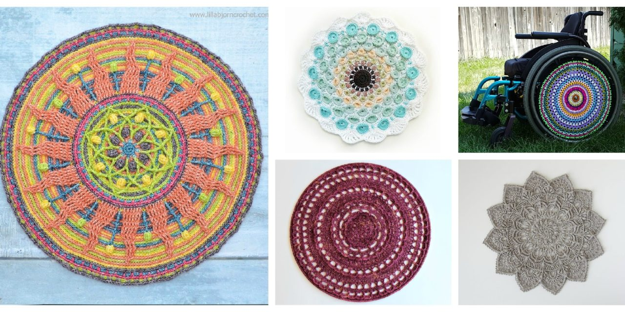 Designer Spotlight: More Than 20 Magical Mandala Patterns For Crocheters To Choose From!