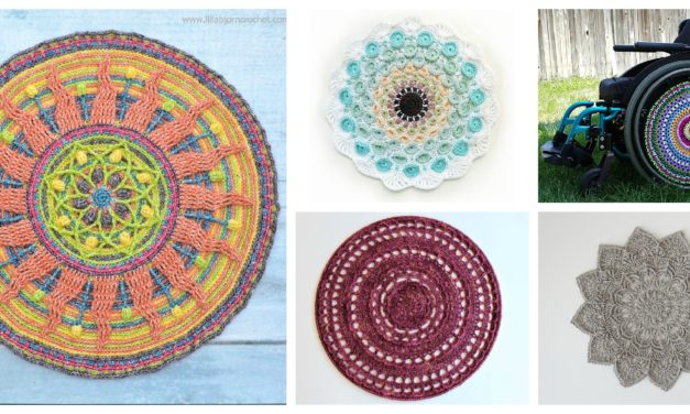 Designer Spotlight: More Than 20 Magical Mandela Patterns For Crocheters To Choose From!