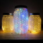 Knit a Set of 'Light Up The Night' Jars … They Really Light Up!